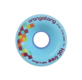 ORANGATANG FAT FREE 65MM BLUE