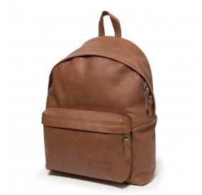 PADDED CUIR BROWNIE LEATHER EASTPAK