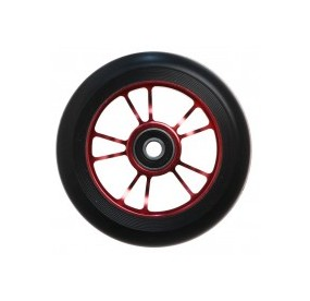 Blunt roue 10 SPOKES 100MM Red