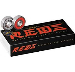 Bones Bearings Reds Roulement - red